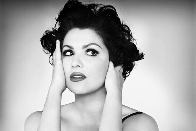 Fantastic opera singer Netrebko Anna