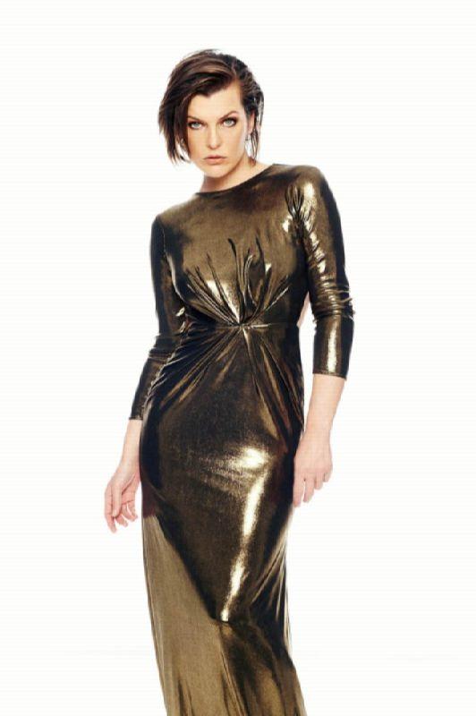 Fashionable actress Jovovich Milla