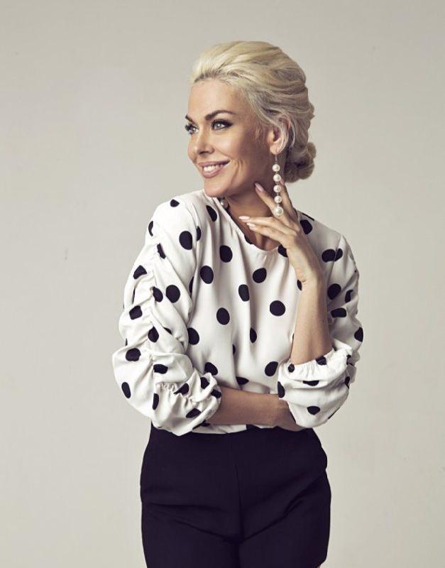 Glamorous singer Tatiana Tereshina
