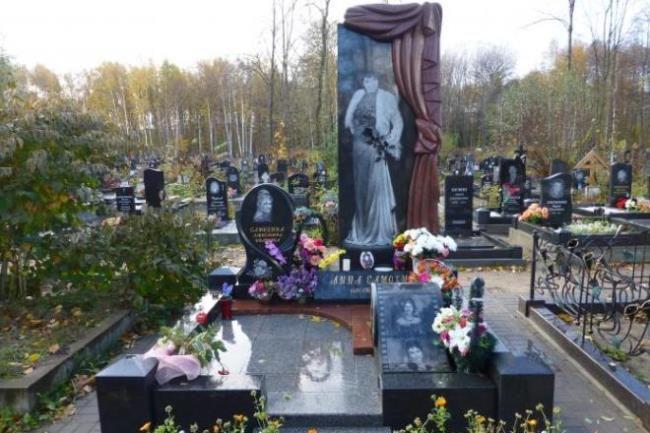 Grave of Anna Samokhina