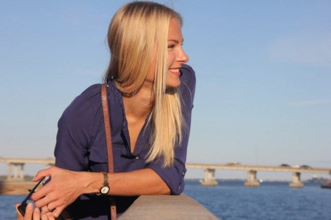 Great athlete Daria Klishina