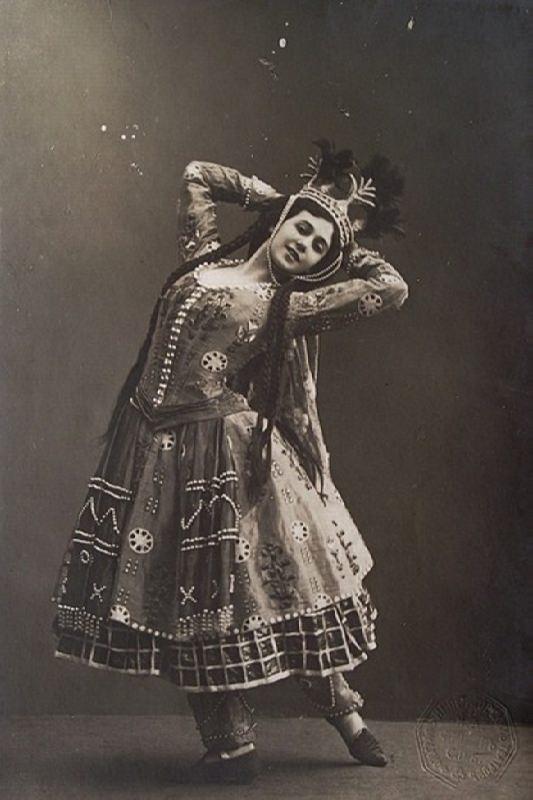Tamara Karsavina – Firebird of Russian ballet
