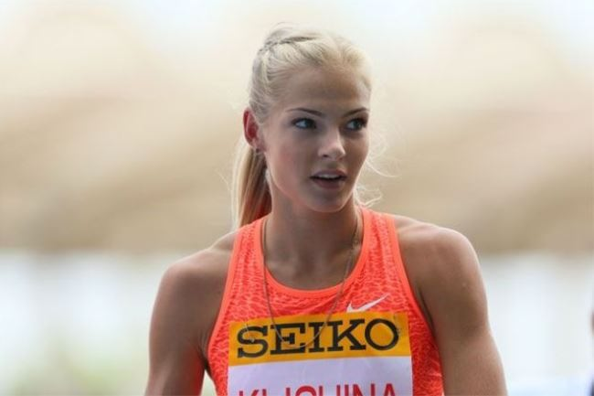 Incredible athlete Daria Klishina