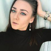 Interesting actress Olerinskaya Ingrid