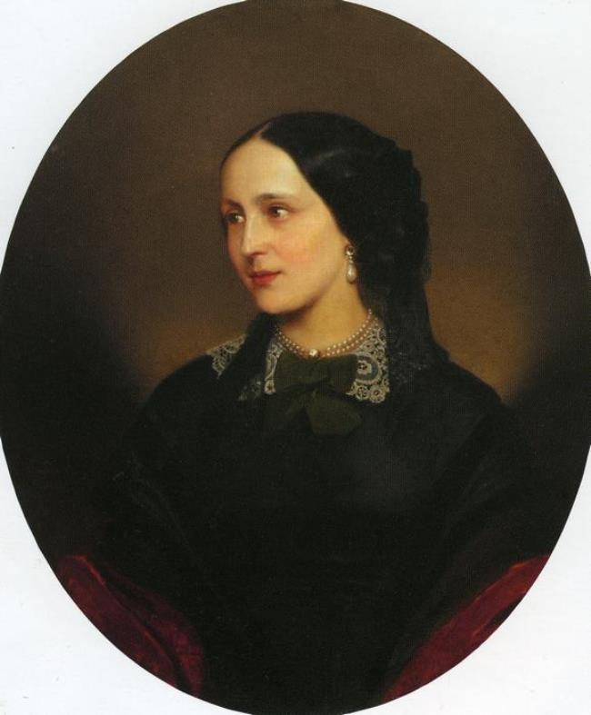 Karl Lash. Natalia Goncharova, 1856