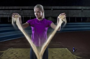 Daria Klishina beautiful Russian athlete