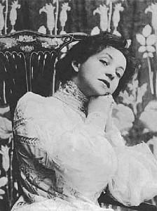 Beautiful Vera Komissarzhevskaya