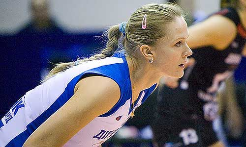 Makhno Lesya volleyball player