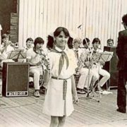 Little Anya Netrebko in her childhood