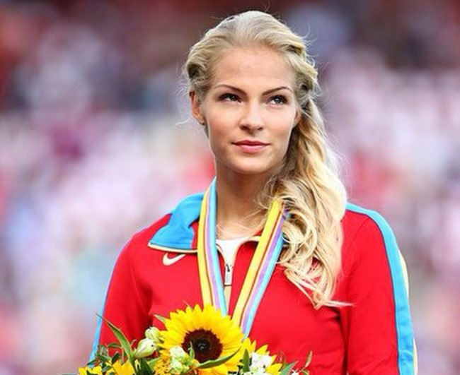 Lovely athlete Daria Klishina