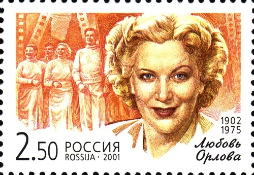 Lyubov Orlova Stalin favourite