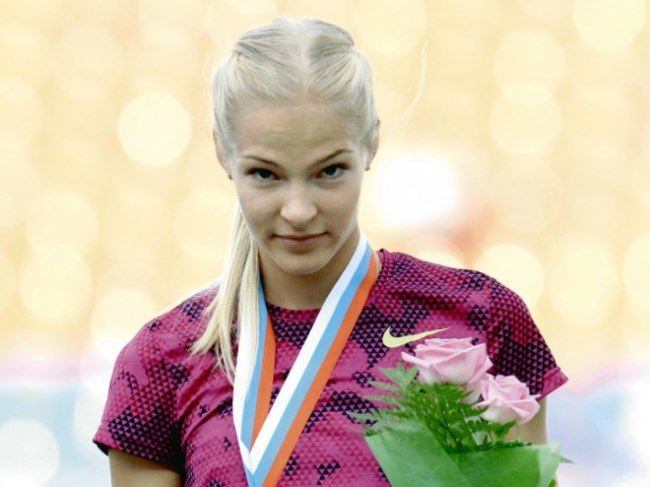 Magnificent athlete Daria Klishina