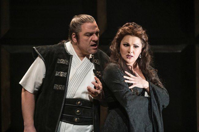 Magnificent opera singer Netrebko Anna