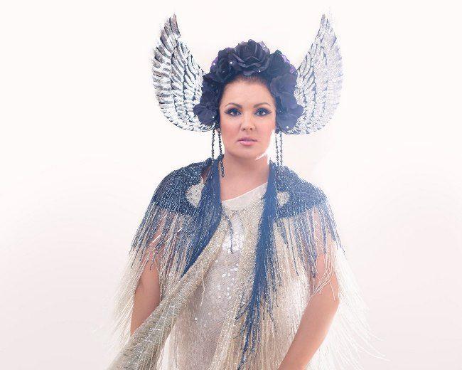Majestic opera singer Netrebko Anna