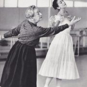 Margot Fonteyn and Tamara Karsavina