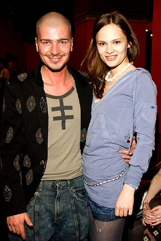 Maxim Rapoport and Daria Charusha