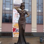 Monument to Lubov Orlova in Zvenigorod