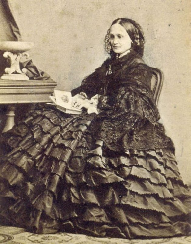 Natalia Pushkina-Lanskaya. Early 1860s