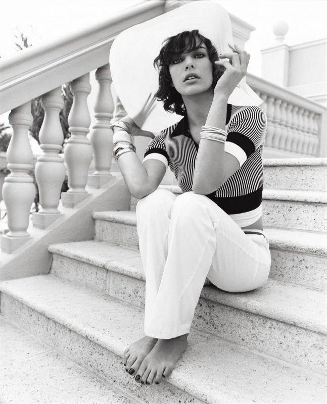 Original actress Jovovich Milla