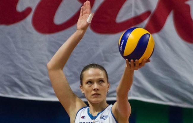 Lesya Makhno, volleyball player