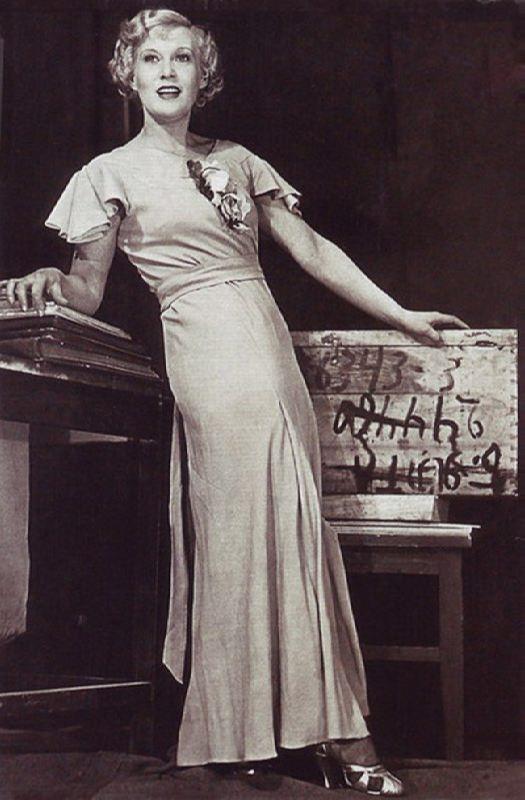 Outstanding actress Lubov Orlova