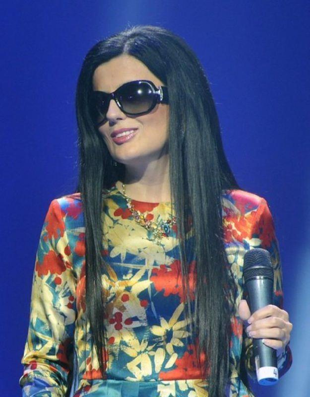 Popular singer Gurtskaya Diana