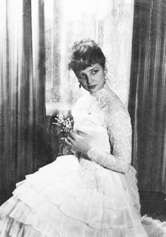 Pretty actress Nataliya Kustinskaya