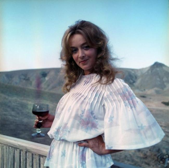 Pretty actress Terekhova Margarita