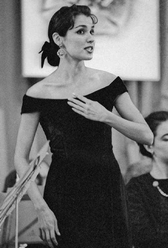 Pretty opera singer Netrebko Anna