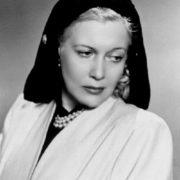Prominent actress Lubov Orlova