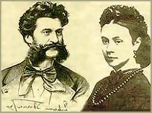 Olga Smirnitskaya and Johann Strauss