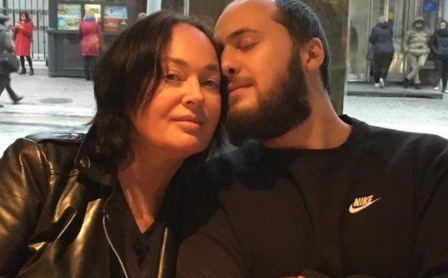 Stunning Larissa Guzeeva and her son