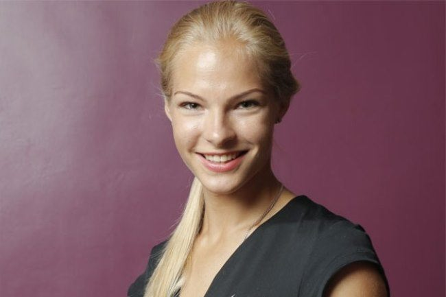 Stunning athlete Daria Klishina