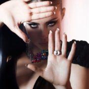 Stunning model Ksenia Tchoumitcheva