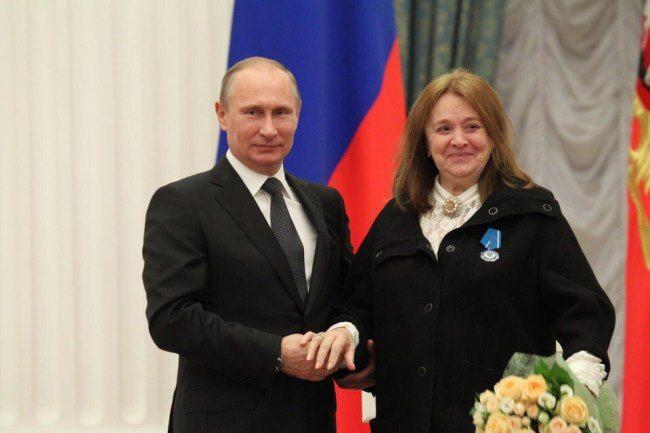 Vladimir Putin and Margarita Terekhova