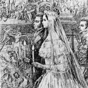 Wedding of Pushkin and Goncharova