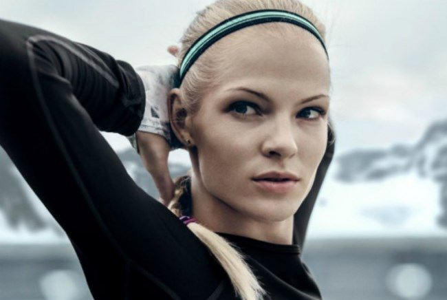 Wonderful athlete Daria Klishina