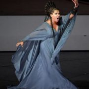 Wonderful opera singer Netrebko Anna