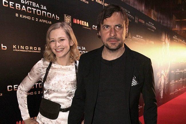 Yevgeny Tsyganov and Yulia Peresild