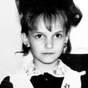 Yuliya Zimina in her childhood