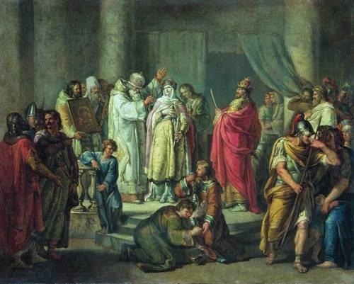 Princess Olga Baptism