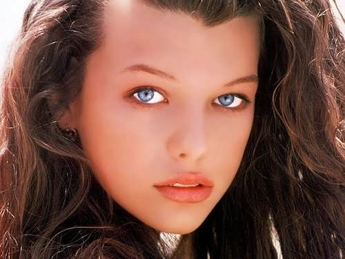 jovovich youth
