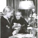 orlova and her mum