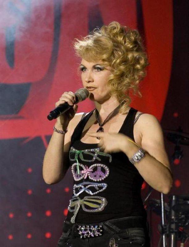 Svetlana Razina, Russian pop singer