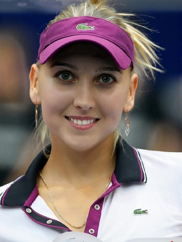 Attractive tennis player Vesnina Elena