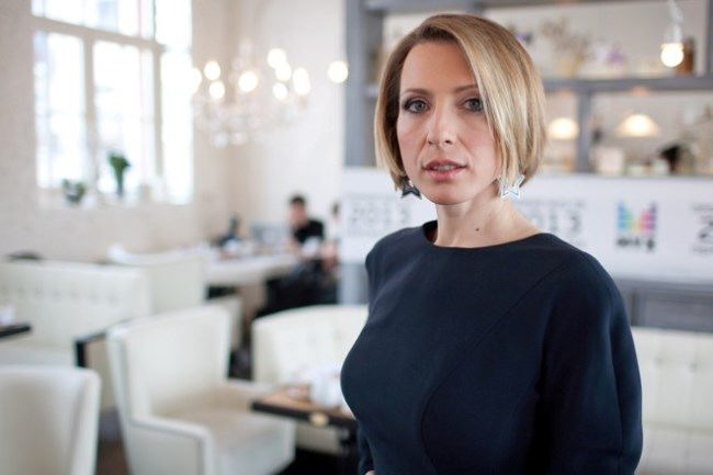 Yana Churikova, journalist and TV host