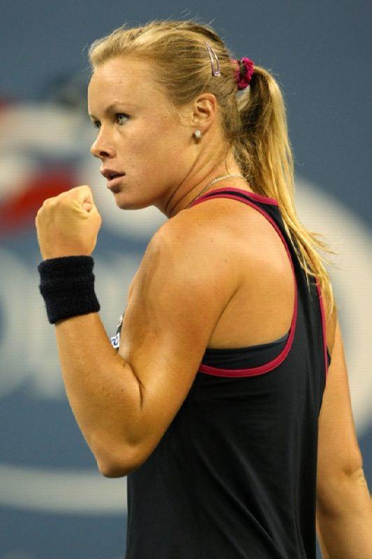 Vera Dushevina, tennis player