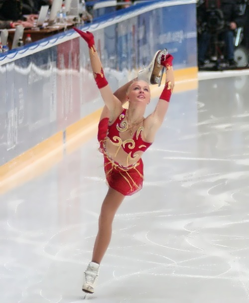 Katarina Gerboldt beautiful figure skater