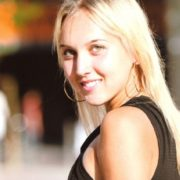 Charming tennis player Vesnina Elena
