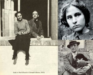 Elena and Paul Eluard